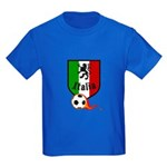 Italian Soccer Kids Dark T-Shirt