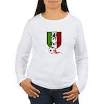 Italian Soccer Women's Long Sleeve T-Shirt