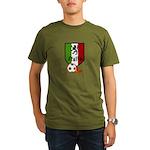 Italian Soccer Organic Men's T-Shirt (dark)