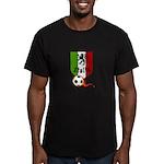 Italian Soccer Men's Fitted T-Shirt (dark)