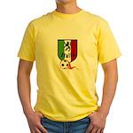 Italian Soccer Yellow T-Shirt