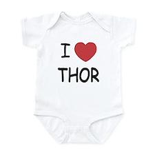 I heart Thor Infant Bodysuit