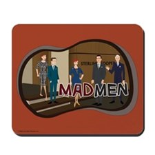 Sterling Cooper Mad Men Mousepad