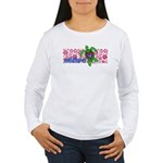 ILY Aloha Hawaii Turtle Women's Long Sleeve T-Shir