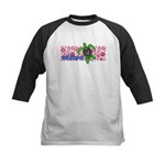 ILY Aloha Hawaii Turtle Kids Baseball Jersey