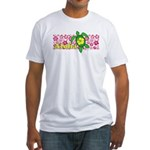 Aloha Hawaii Turtle Fitted T-Shirt
