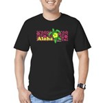 Aloha Hawaii Turtle Men's Fitted T-Shirt (dark)