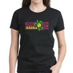 Aloha Hawaii Turtle Women's Dark T-Shirt