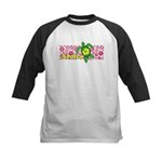 Aloha Hawaii Turtle Kids Baseball Jersey