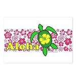 Aloha Hawaii Turtle Postcards (Package of 8)