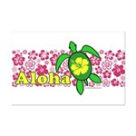 Aloha Hawaii Turtle Mini Poster Print