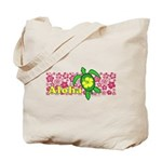 Aloha Hawaii Turtle Tote Bag