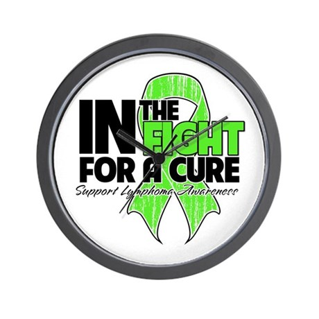 FightForaCureLymphoma Wall Clock