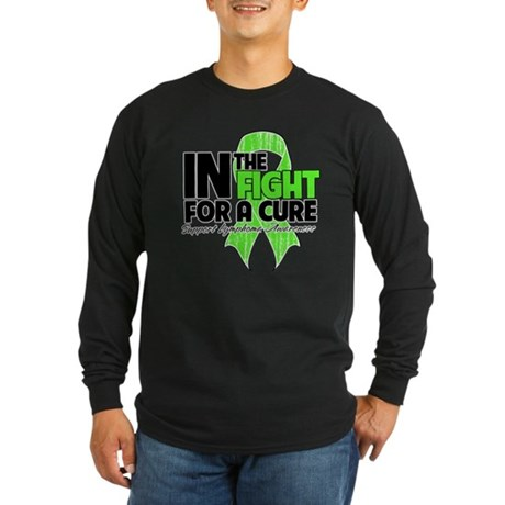 FightForaCureLymphoma Long Sleeve Dark T-Shirt