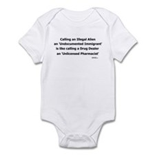 Undocumented Immigrant Infant Bodysuit