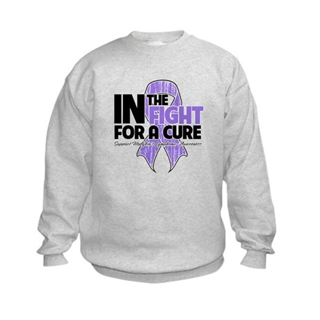 InTheFightForaCureHodgkins Kids Sweatshirt