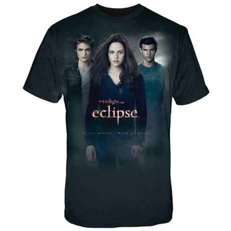 Twilight Eclipse Men's Black T-shirt