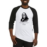 Ben Franklin Loves Beer Baseball Jersey