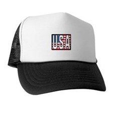 USA Flag Gifts Trucker Hat