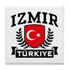 Izmir Turkiye Tile Coaster