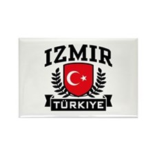 Izmir Turkiye Rectangle Magnet