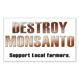 Destroy Monsanto Decal