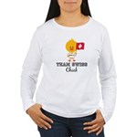 Team Swiss Chick Women's Long Sleeve T-Shirt