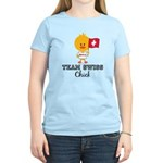 Team Swiss Chick Women's Light T-Shirt