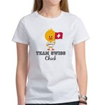 Team Swiss Chick Women's T-Shirt