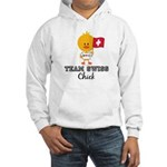 Team Swiss Chick Hooded Sweatshirt