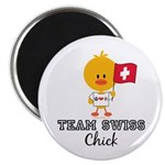 Team Swiss Chick Magnet