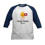 Team Swiss Chick Kids Baseball Jersey