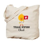 Team Swiss Chick Tote Bag