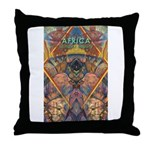 Africa.1 Land of Beauty Throw Pillow