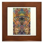Africa.1 Land of Beauty Framed Tile