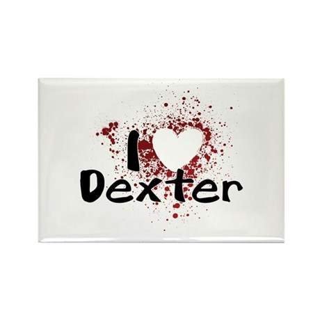 I Heart Dexter Rectangle Magnet (100 pack)
