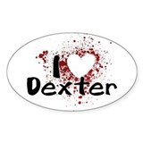 I Heart Dexter Decal