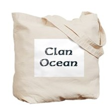 Clan Ocean 2Sided Tote Bag