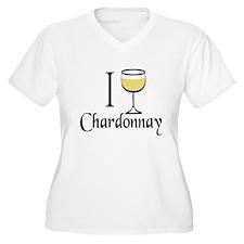 I Drink Chardonnay T-Shirt