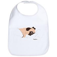 Lazy Pug Bib