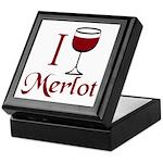 Merlot Drinker Keepsake Box