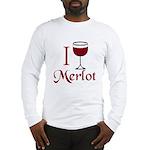 Merlot Drinker Long Sleeve T-Shirt