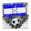Soccer Fan Honduras Tile Coaster
