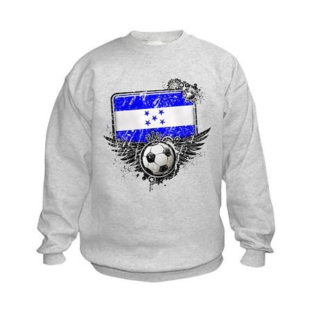 Soccer Fan Greece Kids Sweatshirt