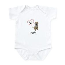 Puggle Lover Infant Bodysuit