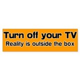 Turn Off Your TV Bumpersticker