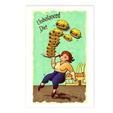Unbalanced Diet Postcards (Package of 8)