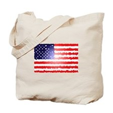 American Flag Old Glory Patri Tote Bag