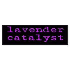 Lavender Catalyst Bumpersticker