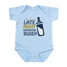 Late Night Drinking Buddy Onesie